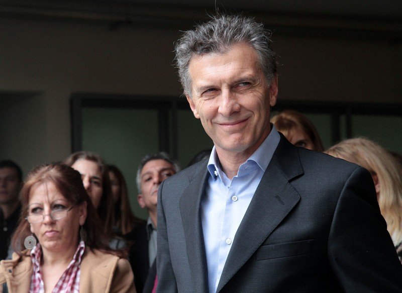 "Argentine President-elect Mauricio Macri. (Image:  Buenos Aires government, CC BY 2.0"")"