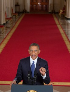 U.S. President Barack Obama announcing executive orders on immigration in 2014. (Image:White House, Public Domain)