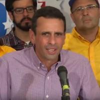 Venezuelan opposition leader Henrique Capriles. (Image: Youtube)