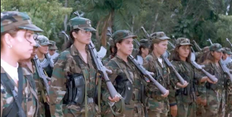 Women of the FARC. (Image: