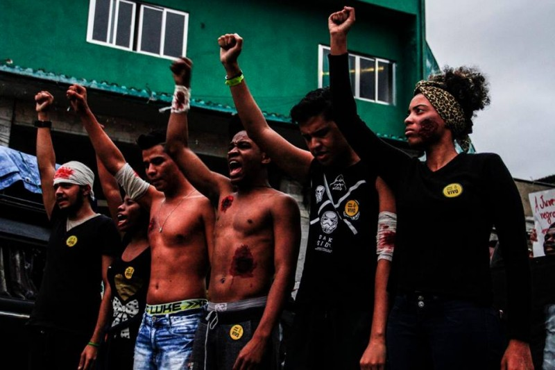 Amid Police Violence Against Brazil's Black Population, a Protest ...