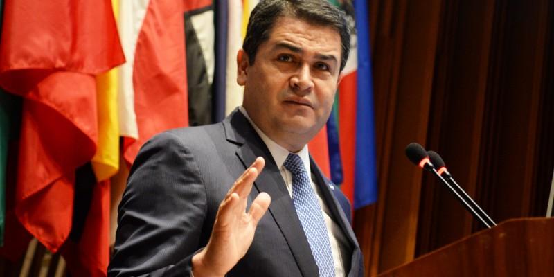 Honduran President Juan Orlando Hernández. (Image: Organization of American States, Public Domain)