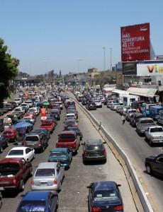 The U.S.-Mexico border crossing at Tijuana. (Image: Prayitno, CC BY 2.0)