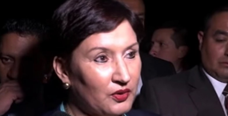 Guatemala Attorney General Thelma Aldana (Image: Canal Antigua, YouTube)