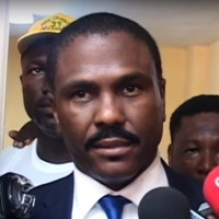 Haitian presidential candidate Jude Célestin (Image: YouTube, screenshot)