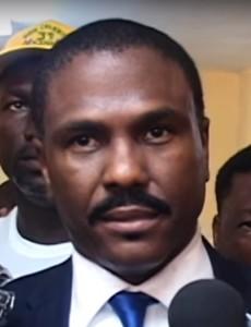 Haitian presidential candidate Jude Célestin (Image: YouTube, screenshot)