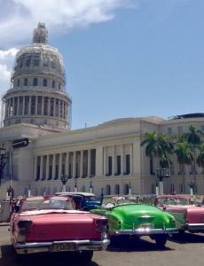 The former Cuban capitol building in Havana. (Image: Katie Schlechter)
