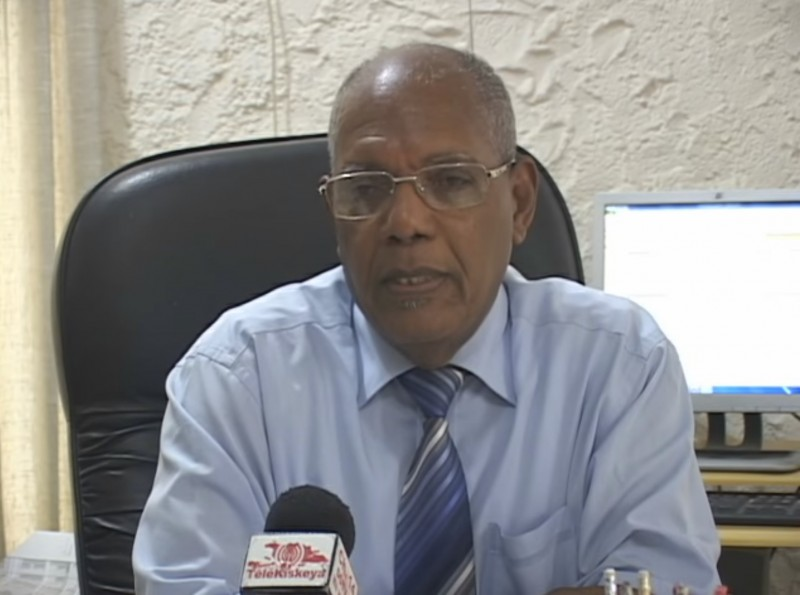 Electoral commissioner Rosny Desroches. (Image: Youtube)
