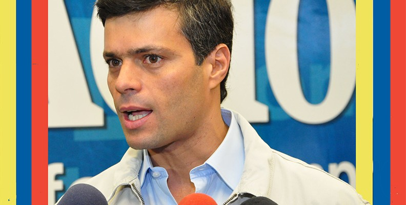 Jailed opposition leader Leopoldo López. (Image:  A. Davey, CC BY 2.0)