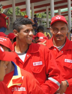 Workers from Venezuela's state oil firm PDVSA in 2013. (Image: Luigino Bracci, CC BY 2.0)