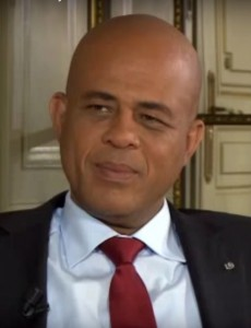 Outgoing Haitian President Michel Martelly. (Image: Youtube)