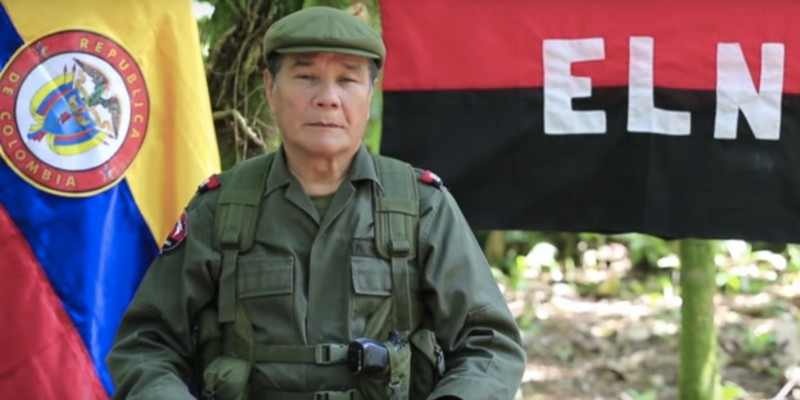ELN Commander-in-Chief, Nicolás Rodríguez Bautista. (Image: YouTube)