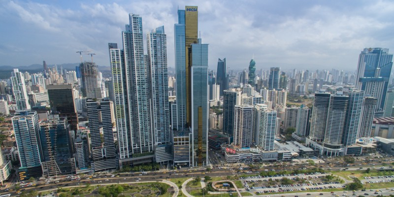 Panama City's financial district. (Image: dronepicr/Flickr, (CC BY 2.0)