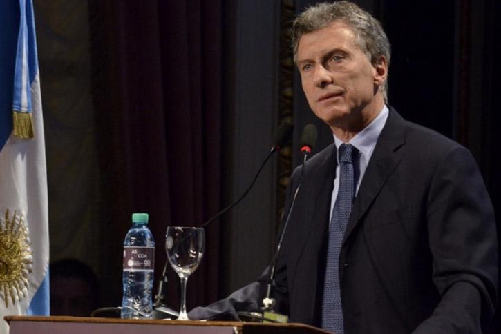Argentine President Mauricio Macri (Image: Government of Argentina)