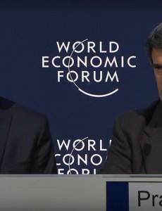 Argentine President Mauricio Macri and Economy Minister Alfonso Prat-Gay. (Image: World Economic Forum/YouTube