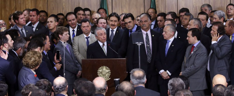 Brazil's interim President Michel Temer (Image: Valter Campanato/Agencia Brasil)