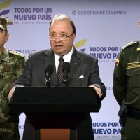 Colombian Defense Minister Luis Carlos Villegas (Image: Youtube, screenshot)
