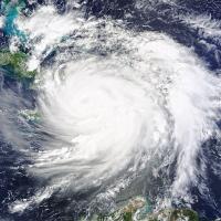 Hurricane Matthew makes landfall in Haiti.