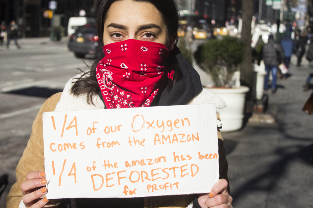 New Yorkers Join Protesters Around the World in Fight for