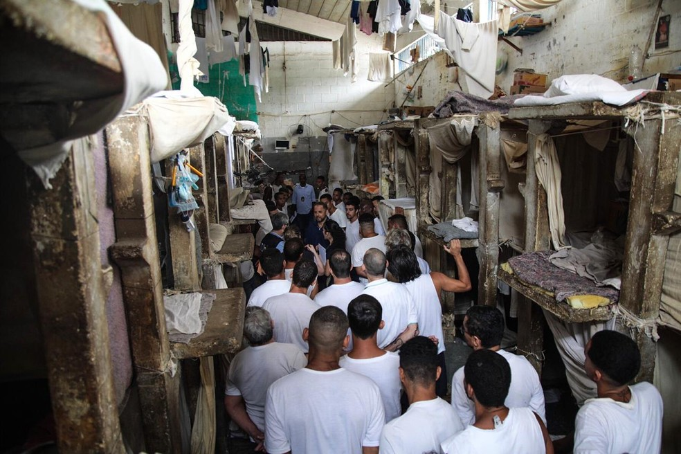 Coronavirus Cases Rise in Brazil's Overcrowded Prisons