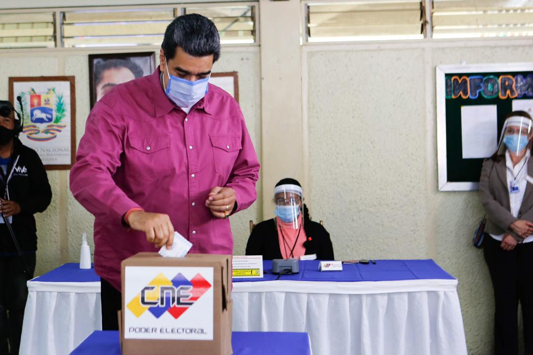 Maduro Voting 12/6/20