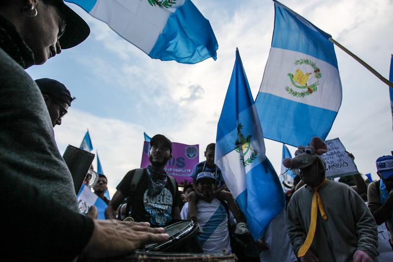 Guatemalans Protest Firing of Corruption Prosecutor